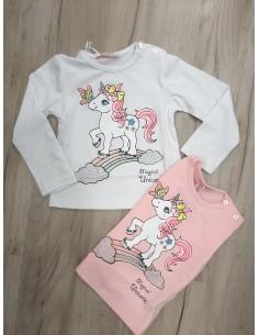 Camiseta unicornio mariposa