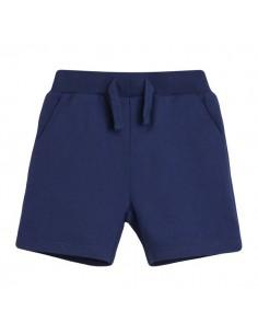 Pantalón corto básico azul