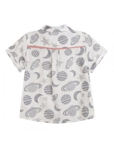 Camisa planetas bebe niño
