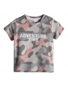 Camiseta bebe estilo camuflaje