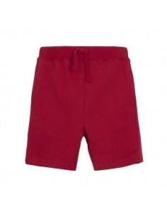 Pantalón corton básico rojo