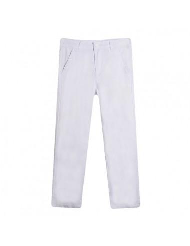 Pantalón estilo chino blanco