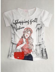 Camiseta chica brilli