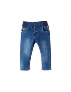 Pantalón azul goma cintura