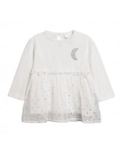 Camiseta volante luna y...